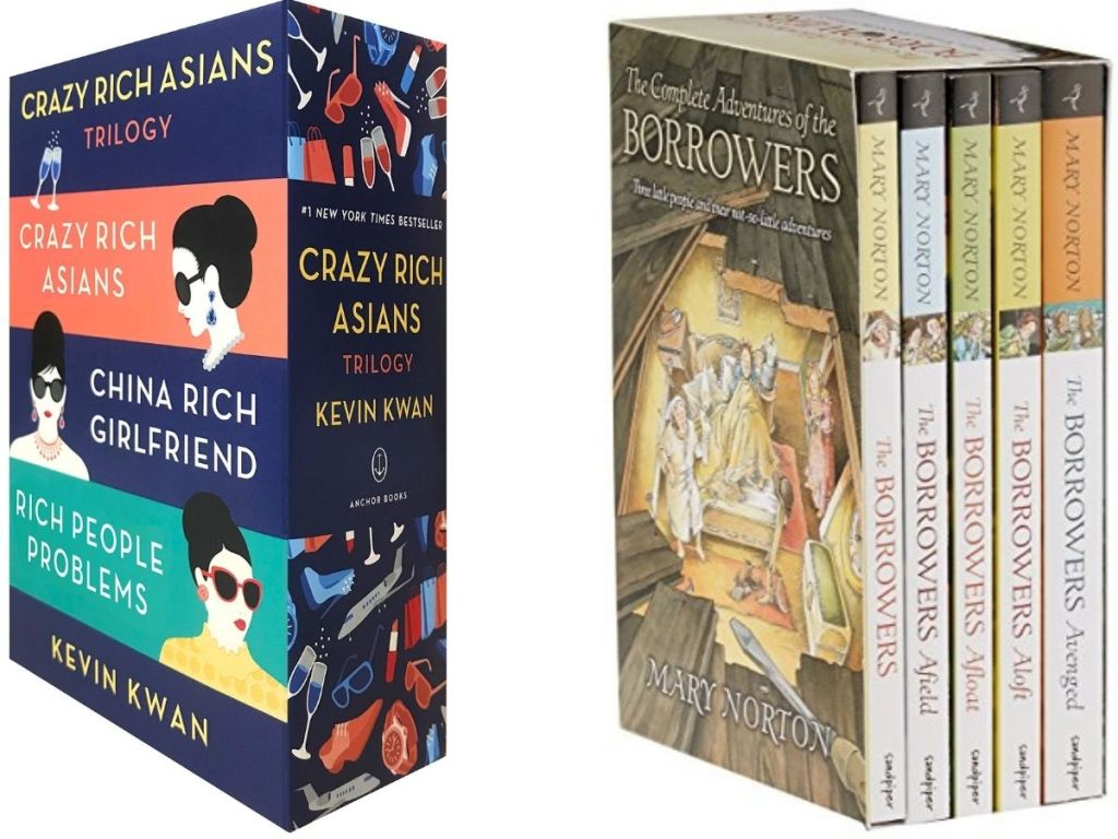 Crazy Rich asians and the borrowers Book sets