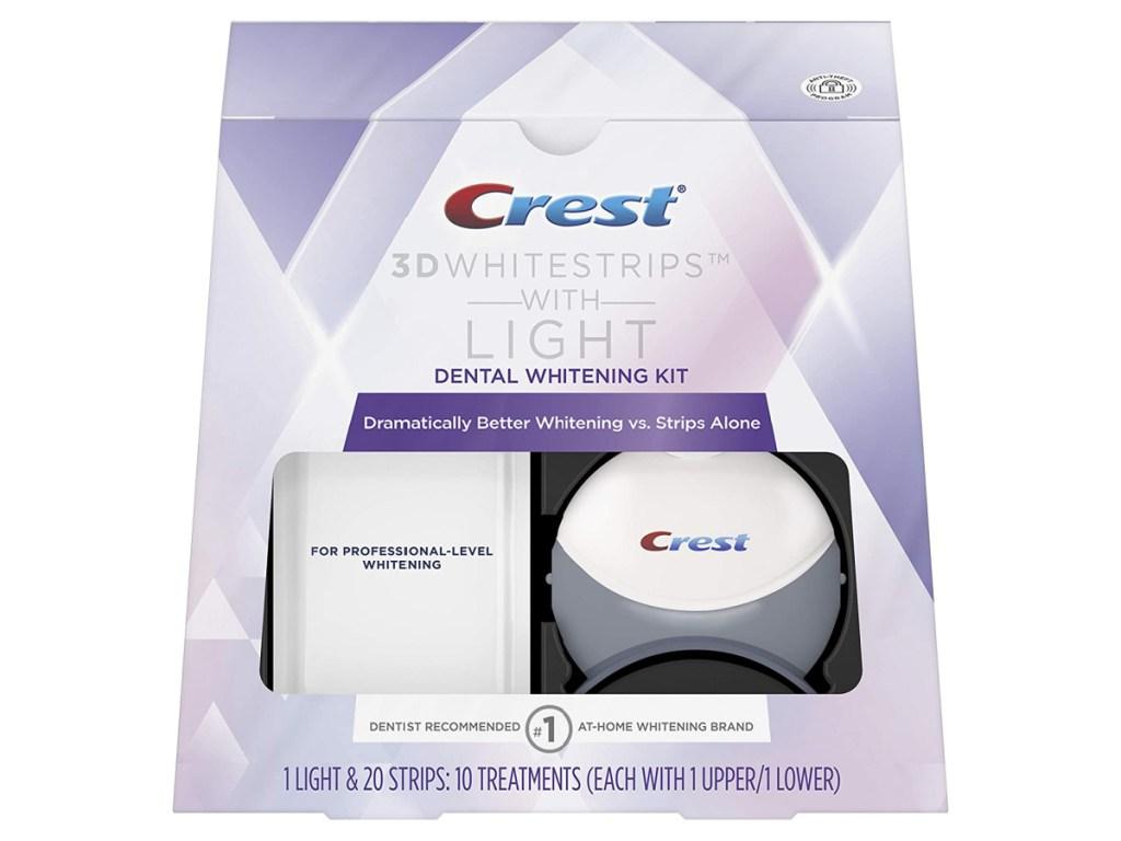 Crest 3d Whitestrips with Light Box