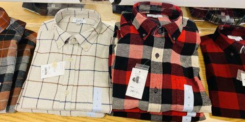 Croft & Barrow Men's Flannel Shirts Only $8.49 on Kohls.com (Regularly $36)