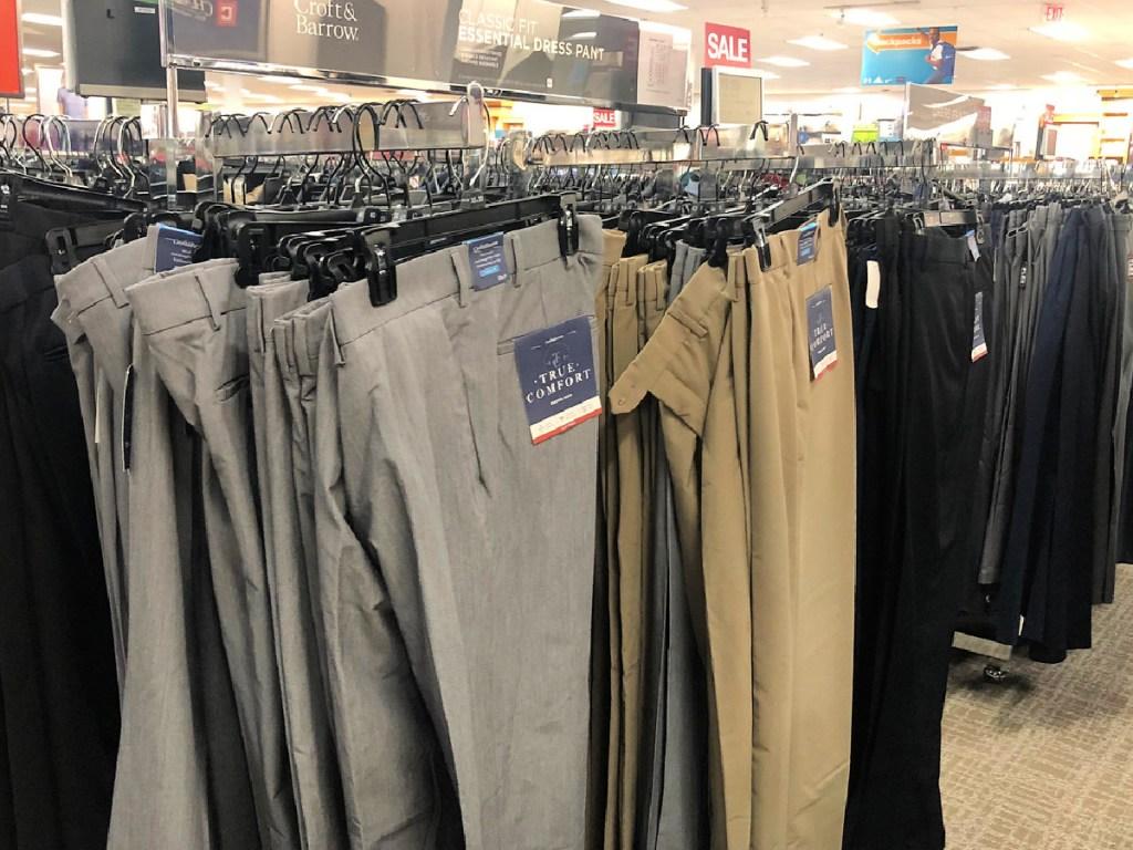 Croft & Barrow Men's Dress Pants