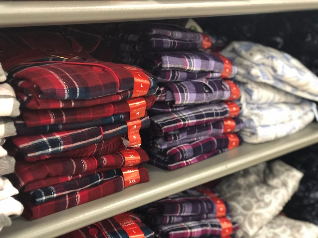 Croft Barrow Pajama Sets on shelf