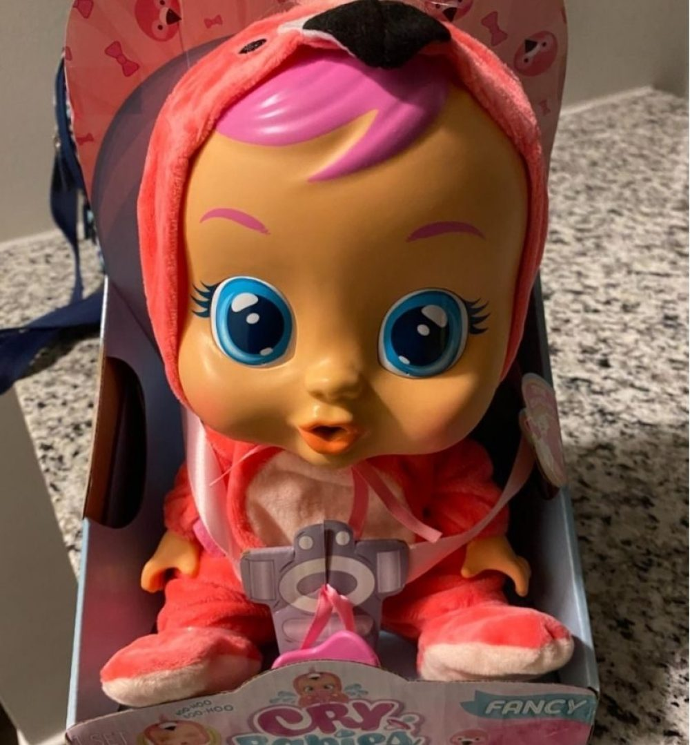 Cry Babies Flamingo Doll