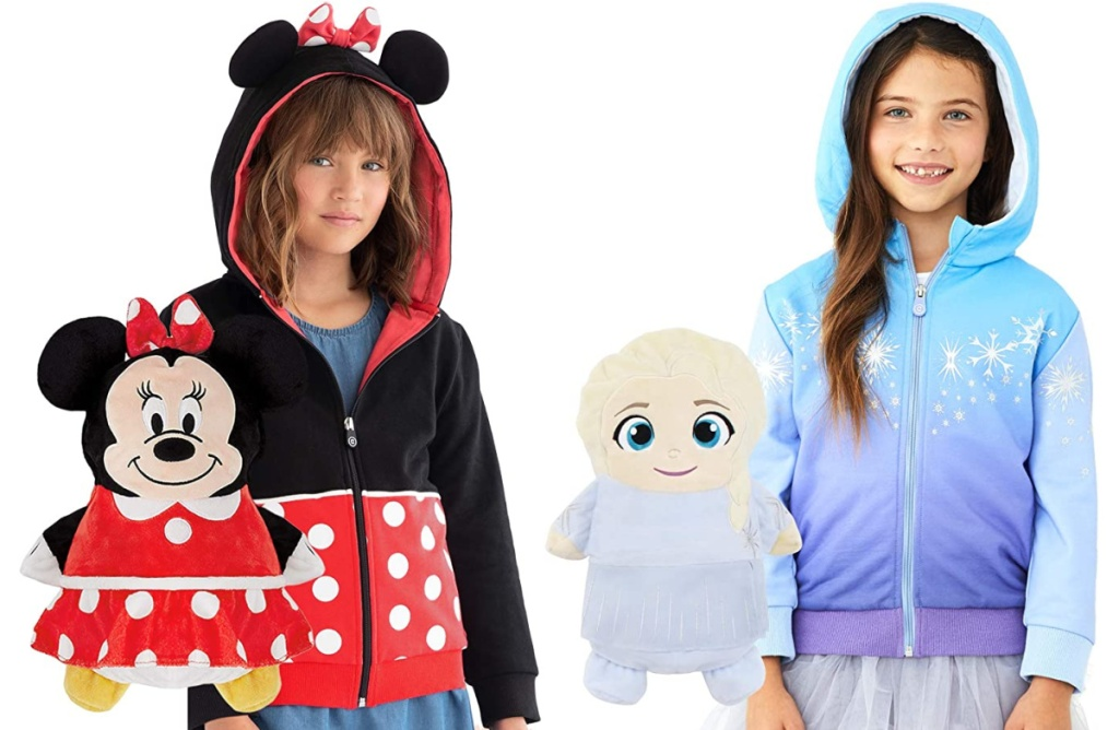 Cubcoats 2-in-1 Transforming Classic Zip-Up Hoodie & Soft Plushie