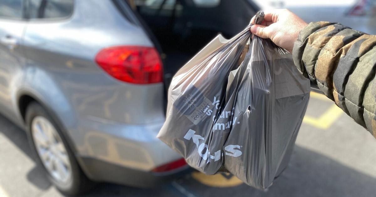 Kohl's Curbside Pickup bags