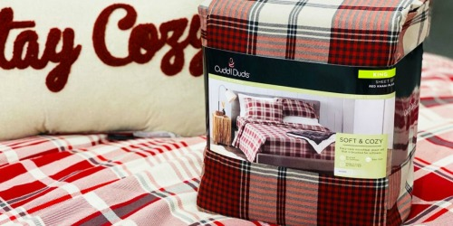 Cuddl Duds Flannel Sheets Sets from $13.99 Shipped for Kohl's Cardholders (Regularly $50+)