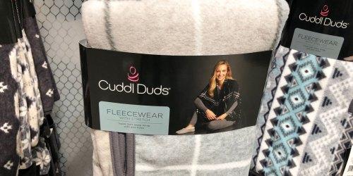 Cuddl Duds Reversible Plush Wraps Just $15 on Kohls.com (Regularly $36)