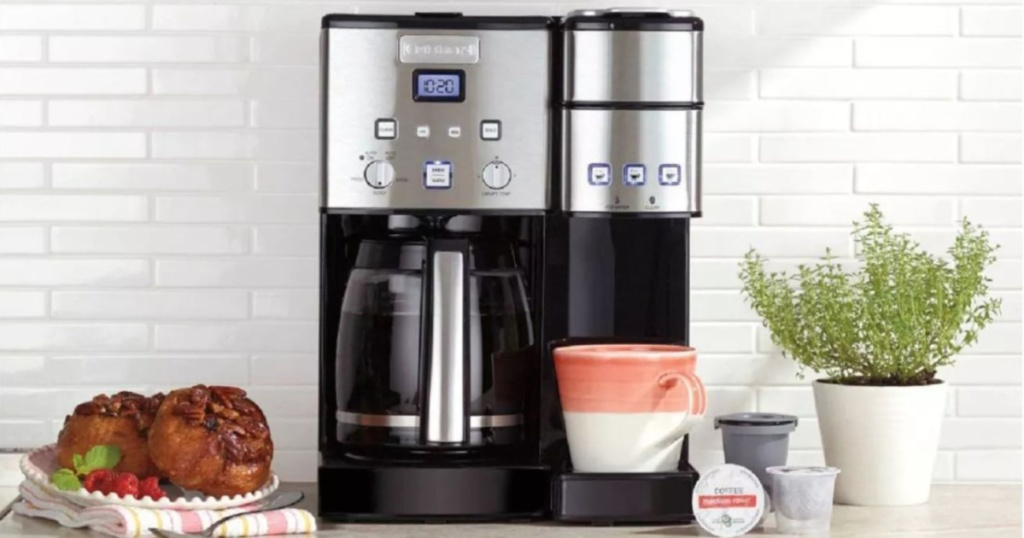 coffee maker on counter