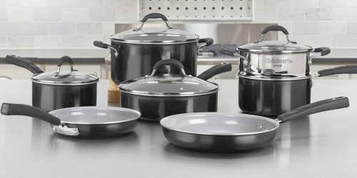 Cuisinart 12-Piece Cookware Set Just $97.99 Shipped for Cardholders + Earn $10 Kohl's Cash (Regularly $250)