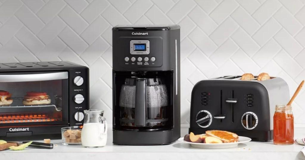 Cuisinart Perfectemp Coffee maker on counter