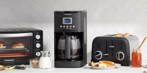 Cuisinart Coffee Maker from $69.99 + Free Shipping for Cardholders & Earn $10 Kohl's Cash