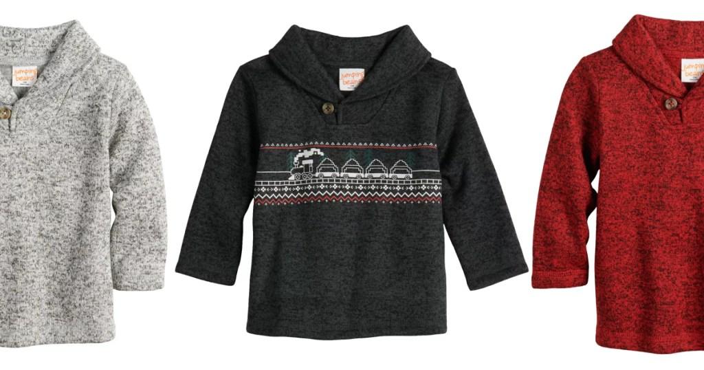 Jumping Beans Fleece sweaters