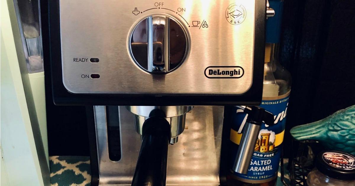 Large luxury coffee machine