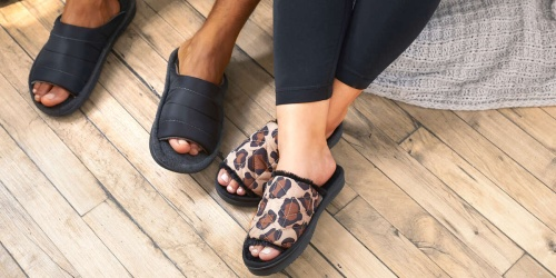 Dearfoams Slippers for the Family from $8 (Regularly $22+) | Great Mother's & Father's Day Gifts