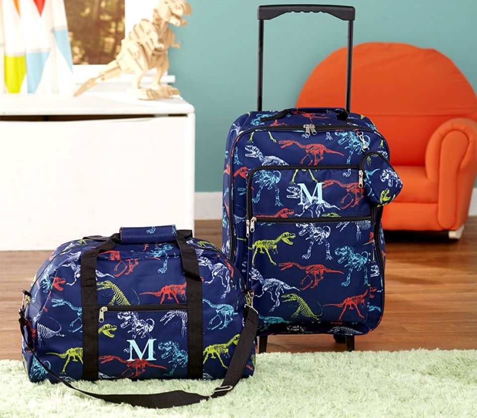 Dinosaur Kids Luggage Set