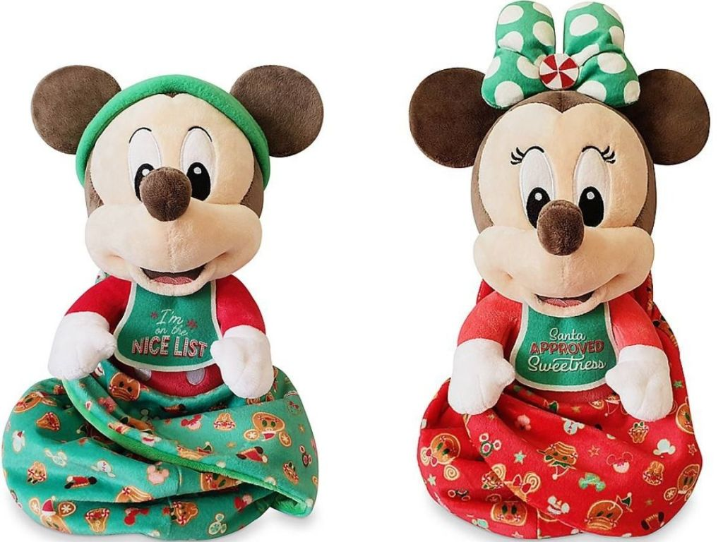 Disney Babies Mickey and Minnie Plush