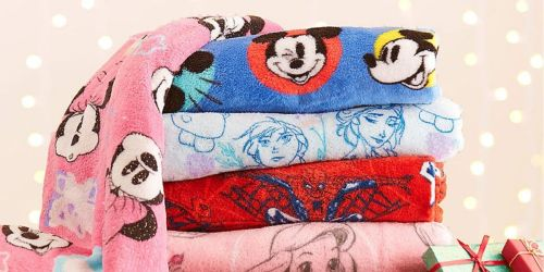 Disney Fleece Blankets Just $9.60 Shipped | Black Friday Deals on Toys, Apparel & More