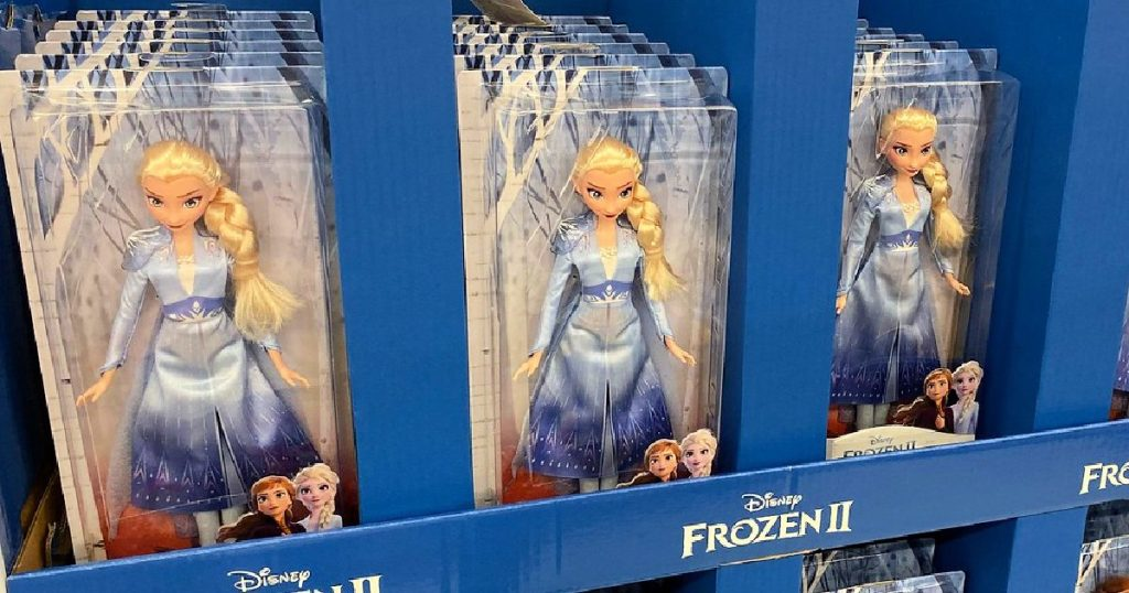 Disney Frozen 2 Elsa Fashion Doll With Blue Ombre Outfit