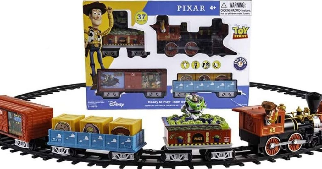 Disney Pixa Lionel Toys Story Electric Train Set