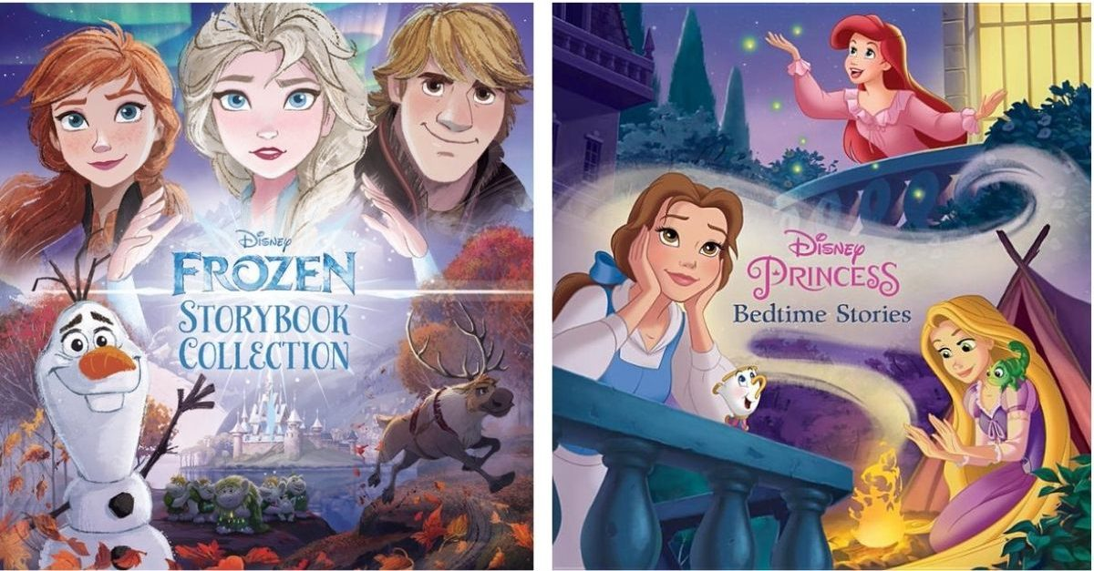 Disney Frozen and Princess Storybook Collections