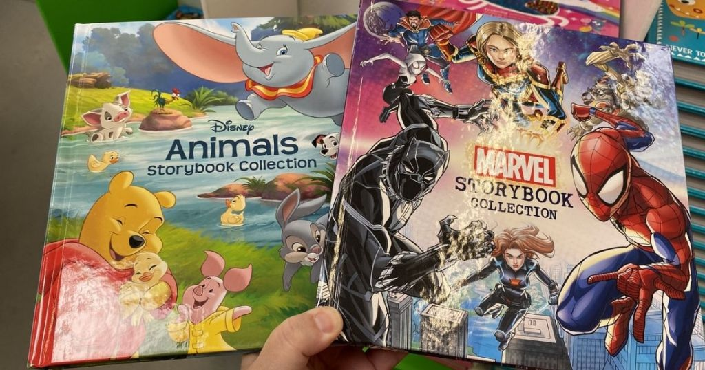 Disney and Marvel harcover Storybook Collection Books