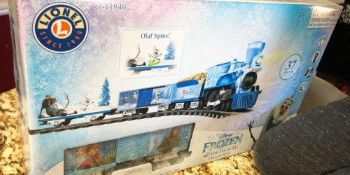 Disney Frozen Train Set Just $49.99 Shipped on Amazon (Regularly $100)