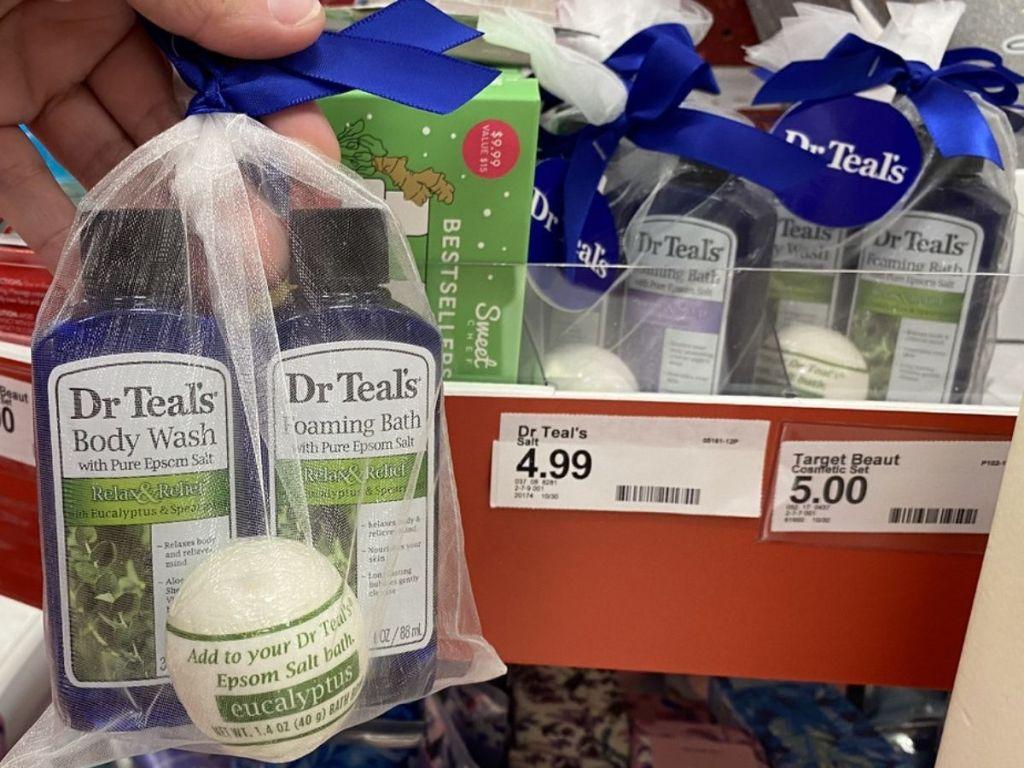 Dr. Teals 3-piece Epsom Slat Gift Set