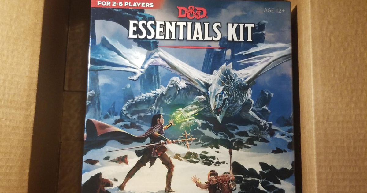 Dungeons & Dragons Essentials Kit in a box