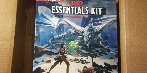 Dungeons & Dragons Essentials Kit Only $7.79 on Amazon (Regularly $25)