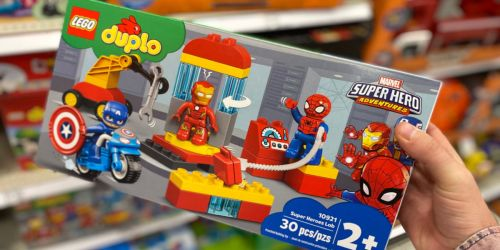 LEGO DUPLO Marvel Super Heroes Lab Set Just $23.99 on Amazon (Regularly $30)