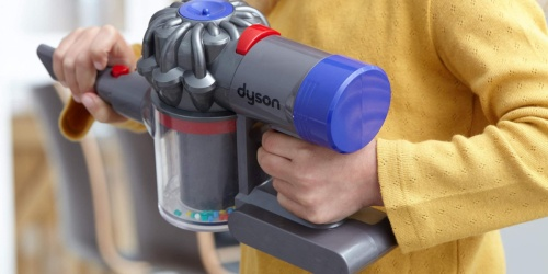This Dyson Cord-Free Toy Vacuum is Just for Kids & Features Working Suction