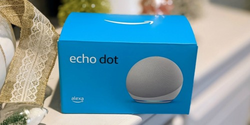 Echo Dot 4th Generation Smart Speaker w/ Bonus Bluetooth Light Bulb Just $28.99 Shipped on Amazon (Regularly $60)