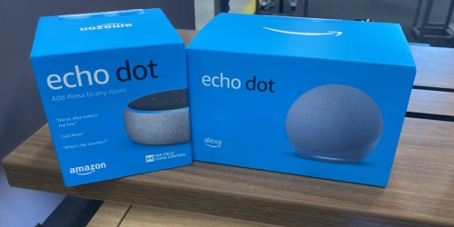 Echo Dot 3rd Gen Only $19.99 Shipped for Amazon Prime Members + More Echo Deals