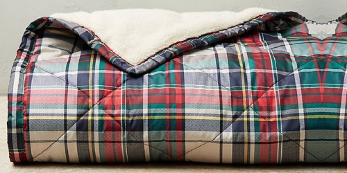Eddie Bauer Oversized Down Throw Only $49.99 Shipped (Regularly $129) | Cozy Gift Idea