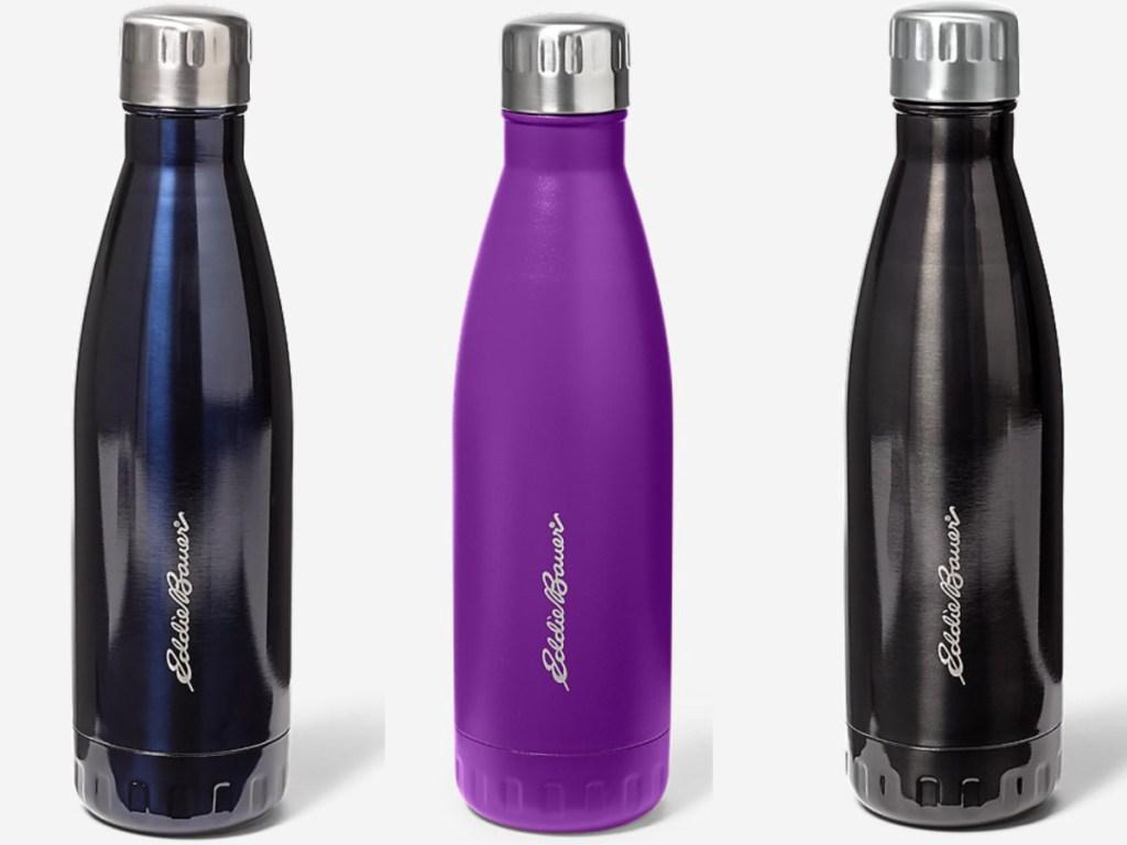 3 eddie bauer vacuum water bottles
