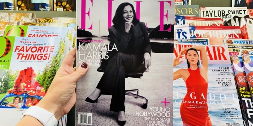 Complimentary 1-Year Elle Magazine Subscription