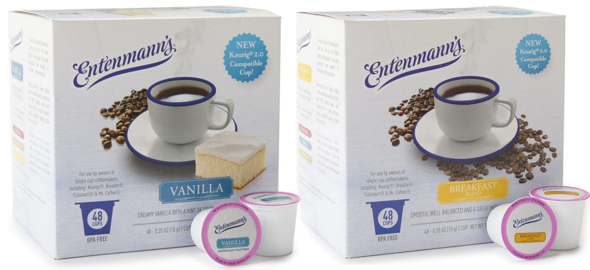 Vanilla dan Breakfast Blend Coffee Pods dari Entenmann