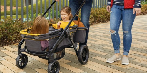$140 Off Evenflo Stroller Wagon + Free Shipping on Amazon (Regularly $350) | Hundreds of 5-Star Reviews