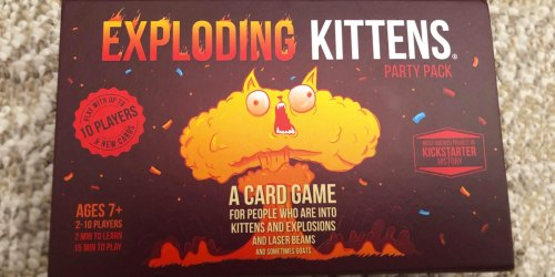 Exploding Kittens Card Game Party Pack Just $14.99 on Amazon (Regularly $30)