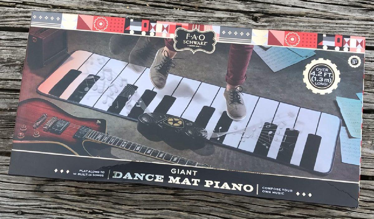 dance mat piano