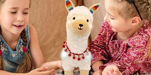FAO Schwarz Llama Plush w/ Lights & Sounds Only $18.99 on Macys.com (Regularly $48)