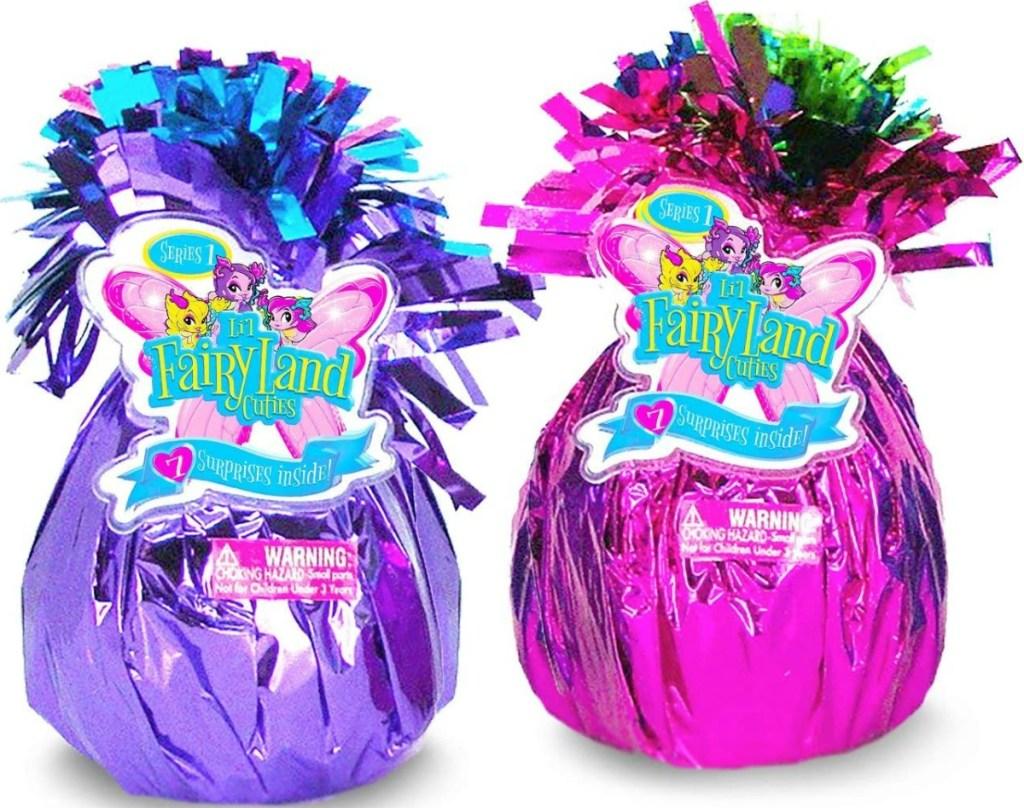 Two surprise foil eggs