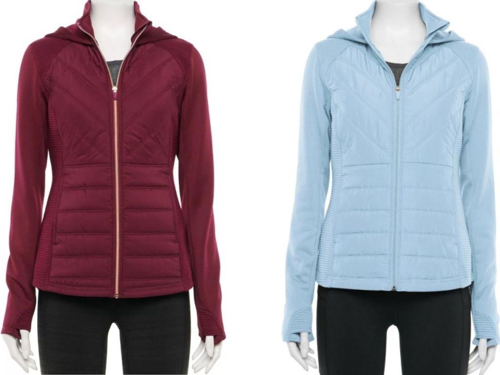 Dua Jaket Fila Sport Wanita