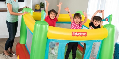 Fisher-Price Bounce House w/ Pump Just $54.88 Shipped on Walmart.com