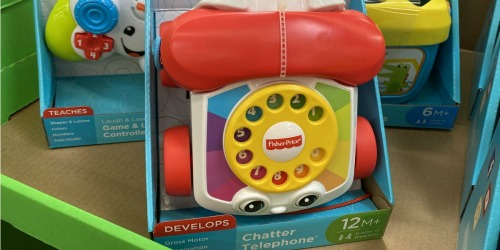 Fisher Price Chatter Telephone Just $5 on Amazon (Regularly $8)