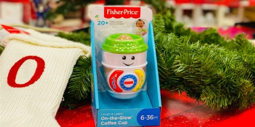Fisher-Price On-the-Glow Coffee Cup Only $4.99 on Target.com (Regularly $10)