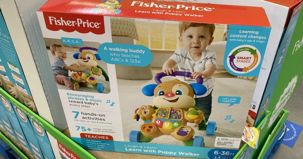 Fisher-Price Laugh & Learn Baby Walker