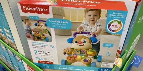 Fisher-Price Laugh & Learn Smart Stages Walker Only $12 on Walmart.com (Regularly $20)