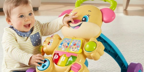 Fisher-Price Laugh & Learn Walker from $8.99 on Target.com (Regularly $19)