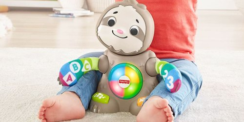 Fisher-Price Linkimals Smooth Moves Sloth Just $15.74 on Amazon (Regularly $22.49)
