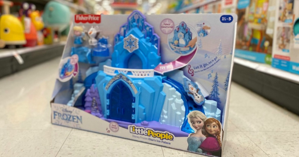 Fisher-Price Little People Elsa's Ice Palace